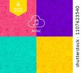 line music patterns. four...   Shutterstock .eps vector #1107623540