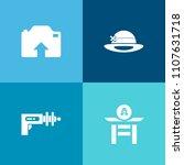 modern  simple vector icon set...   Shutterstock .eps vector #1107631718