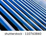 solar water heater | Shutterstock . vector #110763860