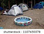 refugees and migrants in a... | Shutterstock . vector #1107650378