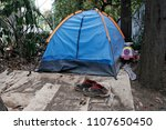refugees and migrants in a... | Shutterstock . vector #1107650450