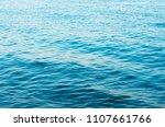 blue sea water background | Shutterstock . vector #1107661766