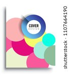 abstract colorful background... | Shutterstock .eps vector #1107664190