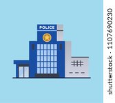 city police station department... | Shutterstock . vector #1107690230