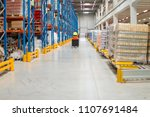 fully stocked warehouse | Shutterstock . vector #1107691484