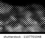 halftone dots texture... | Shutterstock .eps vector #1107701048