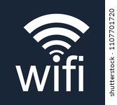 wifi icon isolated vector on a...
