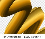3d paint brush with vibrant... | Shutterstock .eps vector #1107784544