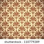 vintage floral seamless pattern ... | Shutterstock .eps vector #110779289
