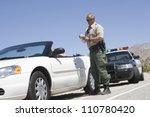 Full Length Of Traffic Officer...