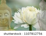 buddha in buddhism on the... | Shutterstock . vector #1107812756