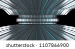 sci fi futuristic alien room... | Shutterstock . vector #1107866900