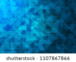 light blue vector abstract... | Shutterstock .eps vector #1107867866