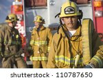 Portrait Of A Fire Fighter...