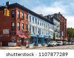 new york  new york   usa   01... | Shutterstock . vector #1107877289