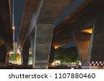 under bridge in the city.   Shutterstock . vector #1107880460