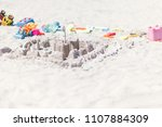 Small But Beautiful Sand Castle ...
