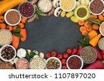 food for good health and... | Shutterstock . vector #1107897020