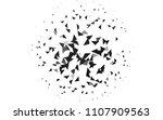 light silver  gray vector... | Shutterstock .eps vector #1107909563