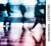 running city business people...   Shutterstock . vector #110791580