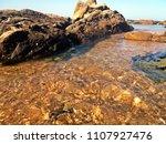 sunny coastline beach | Shutterstock . vector #1107927476
