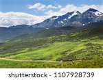 view of the mountains at picos... | Shutterstock . vector #1107928739