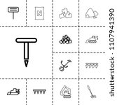 soil icon. collection of 13... | Shutterstock .eps vector #1107941390