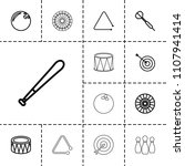 hit icon. collection of 13 hit... | Shutterstock .eps vector #1107941414