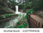 picture of waterfalls from a... | Shutterstock . vector #1107944426