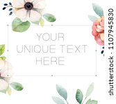 composition with space for text ...   Shutterstock . vector #1107945830