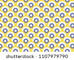 wave background for fabric or... | Shutterstock .eps vector #1107979790