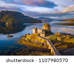 Sunrise at eilean donan castle  ...