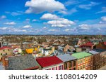 old town in united state and... | Shutterstock . vector #1108014209