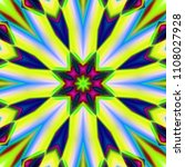 psychedelic background.... | Shutterstock . vector #1108027928
