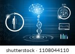 abstract background technology... | Shutterstock .eps vector #1108044110