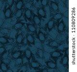 Abstract Dark Blue Seamless...