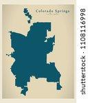 modern city map   colorado...   Shutterstock .eps vector #1108116998