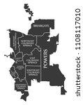 colorado springs co city map...   Shutterstock .eps vector #1108117010