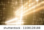 bright gold illustration with... | Shutterstock . vector #1108128188