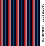 stripe seamless pattern with... | Shutterstock .eps vector #1108163060