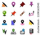 solid vector ixon set  ... | Shutterstock .eps vector #1108163540