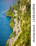 scenic road on the west side of ...   Shutterstock . vector #1108164806