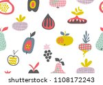 vector seamless pattern with...   Shutterstock .eps vector #1108172243
