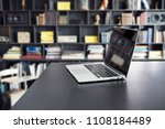 book stack and notebook... | Shutterstock . vector #1108184489
