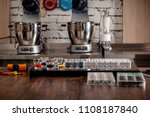 confectionery and cooking tools ... | Shutterstock . vector #1108187840