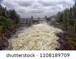 imatra. finland. beginning of... | Shutterstock . vector #1108189709