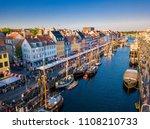 beautiful historical city... | Shutterstock . vector #1108210733
