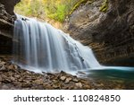 Johnston Canyon Waterfalls ...