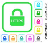 secure http protocol vivid... | Shutterstock .eps vector #1108250510