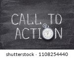 call to action written on... | Shutterstock . vector #1108254440